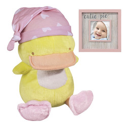 Duck Plush with Hat & Frame Set from Bakanas Florist & Gifts, flower shop in Marlton, NJ