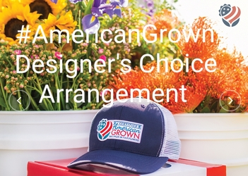 American Grown Designer's Choice Arrangement from Bakanas Florist & Gifts, flower shop in Marlton, NJ