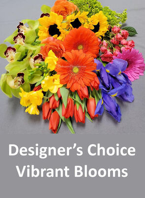 Designer's Choice Vibrant Blooms from Bakanas Florist & Gifts, flower shop in Marlton, NJ
