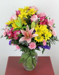 Hand Tied Spring Vase from Bakanas Florist & Gifts, flower shop in Marlton, NJ
