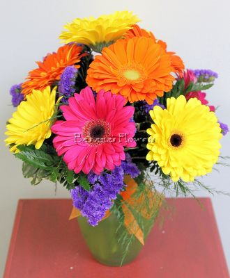 Vibrant Gerberas from Bakanas Florist & Gifts, flower shop in Marlton, NJ