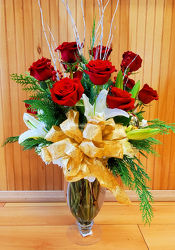 Holiday Magic from Bakanas Florist & Gifts, flower shop in Marlton, NJ
