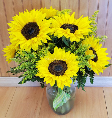 Sunny Sunflowers from Bakanas Florist & Gifts, flower shop in Marlton, NJ