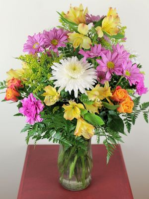 Cheerful Thoughts Bouquet from Bakanas Florist & Gifts, flower shop in Marlton, NJ
