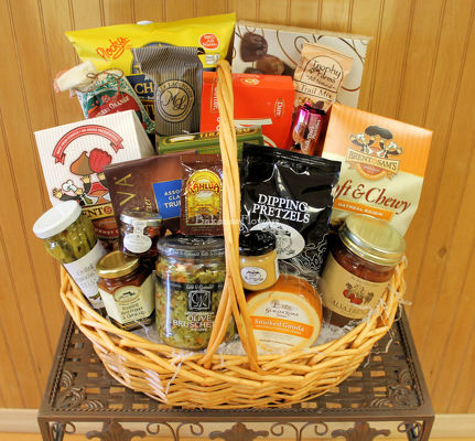 Grand Gourmet Basket from Bakanas Florist & Gifts, flower shop in Marlton, NJ