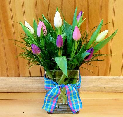 Bakanas flowers fresh marlton floral arrangements flower shop spring tulip vase from bakanas florist gifts flower shop in marlton nj click here for larger image spring tulip vase mightylinksfo