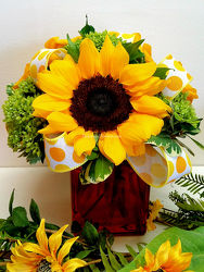 Citrus Sunflowers from Bakanas Florist & Gifts, flower shop in Marlton, NJ