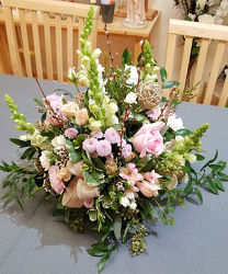 Abelia's Garden Centerpiece from Bakanas Florist & Gifts, flower shop in Marlton, NJ