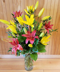 All American Lilies from Bakanas Florist & Gifts, flower shop in Marlton, NJ