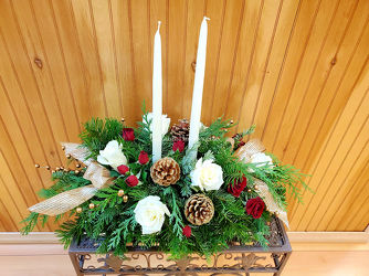 Merry Christmas Wishes from Bakanas Florist & Gifts, flower shop in Marlton, NJ
