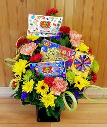 Family Fun Night Bouquet from Bakanas Florist & Gifts, flower shop in Marlton, NJ