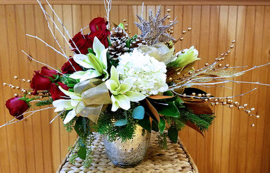 Glorious Christmas from Bakanas Florist & Gifts, flower shop in Marlton, NJ