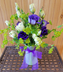 Lisianthus Vibes from Bakanas Florist & Gifts, flower shop in Marlton, NJ