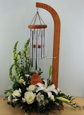 Memorial Wind Chime Stand from Bakanas Florist & Gifts, flower shop in Marlton, NJ