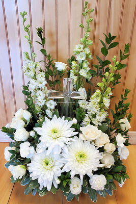 Crystal Cross Bouquet from Bakanas Florist & Gifts, flower shop in Marlton, NJ