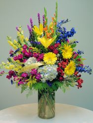 Table Top Vase Arrangement from Bakanas Florist & Gifts, flower shop in Marlton, NJ
