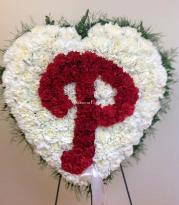 Phillies Love from Bakanas Florist & Gifts, flower shop in Marlton, NJ