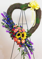 Celebration of Life Tribute Heart from Bakanas Florist & Gifts, flower shop in Marlton, NJ