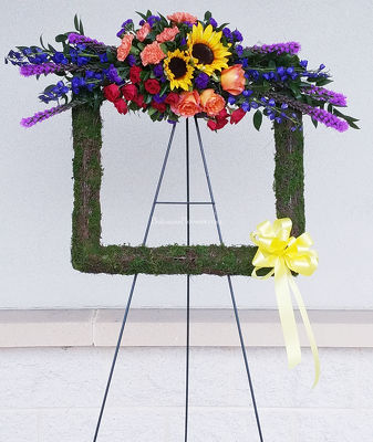 Celebration of Life Tribute Square from Bakanas Florist & Gifts, flower shop in Marlton, NJ