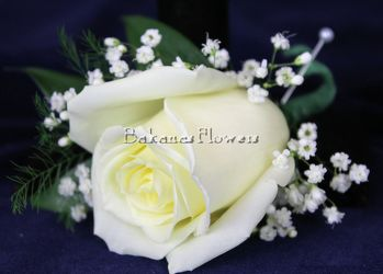 Rose Boutonniere from Bakanas Florist & Gifts, flower shop in Marlton, NJ