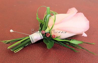 Designer Boutonniere  from Bakanas Florist & Gifts, flower shop in Marlton, NJ