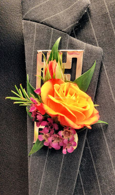 Premier Collection Rose Boutonniere from Bakanas Florist & Gifts, flower shop in Marlton, NJ