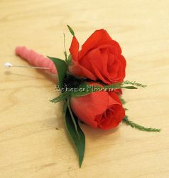 Petite Spray Rose Boutonniere from Bakanas Florist & Gifts, flower shop in Marlton, NJ
