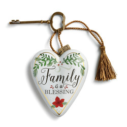 Family is a Blessing Art Heart from Bakanas Florist & Gifts, flower shop in Marlton, NJ