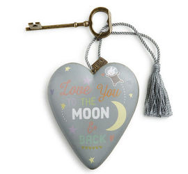 Baby Moon and Back Art Heart from Bakanas Florist & Gifts, flower shop in Marlton, NJ