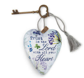 Trust In The Lord Art Heart from Bakanas Florist & Gifts, flower shop in Marlton, NJ