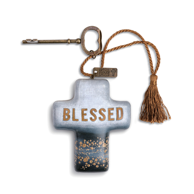 Blessed Artful Cross from Bakanas Florist & Gifts, flower shop in Marlton, NJ
