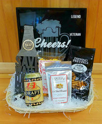 Beer Lover's Basket from Bakanas Florist & Gifts, flower shop in Marlton, NJ