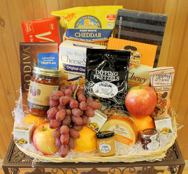 Fruit & Gourmet Basket from Bakanas Florist & Gifts, flower shop in Marlton, NJ