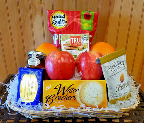 Health Nut Basket from Bakanas Florist & Gifts, flower shop in Marlton, NJ