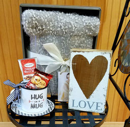 Warm Hugs Basket from Bakanas Florist & Gifts, flower shop in Marlton, NJ