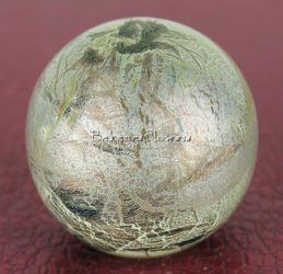 Silver Leaf Marble Paper Weight from Bakanas Florist & Gifts, flower shop in Marlton, NJ