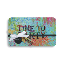 Time to Party Melamine Serving Tray & Spreader Set from Bakanas Florist & Gifts, flower shop in Marlton, NJ