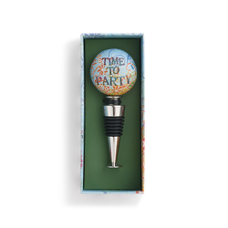 Time to Party Bottle Stopper from Bakanas Florist & Gifts, flower shop in Marlton, NJ