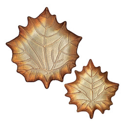 Leaf Plates from Bakanas Florist & Gifts, flower shop in Marlton, NJ