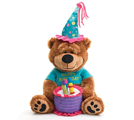 Happy Birthday Bear from Bakanas Florist & Gifts, flower shop in Marlton, NJ
