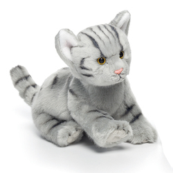 Grey Tabby Cat Plush from Bakanas Florist & Gifts, flower shop in Marlton, NJ