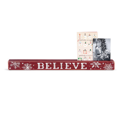 Believe Photo Holder from Bakanas Florist & Gifts, flower shop in Marlton, NJ