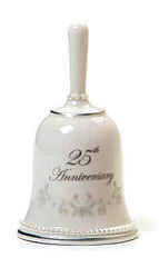 25th Anniversary Bell from Bakanas Florist & Gifts, flower shop in Marlton, NJ