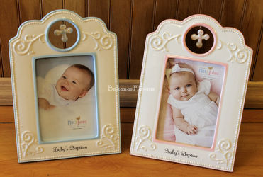 Baptism Frames from Bakanas Florist & Gifts, flower shop in Marlton, NJ