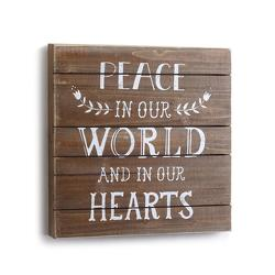 Peace in Our World Wall Art from Bakanas Florist & Gifts, flower shop in Marlton, NJ