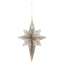 Light Up Star Hanging Decor from Bakanas Florist & Gifts, flower shop in Marlton, NJ