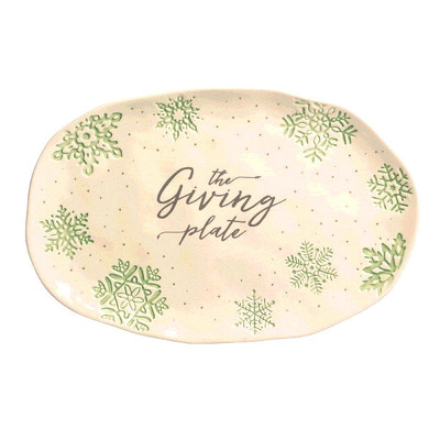 The Giving Plate from Bakanas Florist & Gifts, flower shop in Marlton, NJ