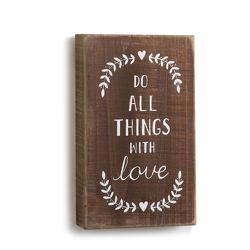 Do All Things Wall Art from Bakanas Florist & Gifts, flower shop in Marlton, NJ
