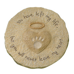 Paw Print Stepping Stone from Bakanas Florist & Gifts, flower shop in Marlton, NJ