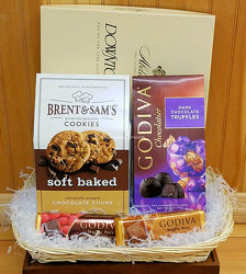 Chocolate Basket from Bakanas Florist & Gifts, flower shop in Marlton, NJ